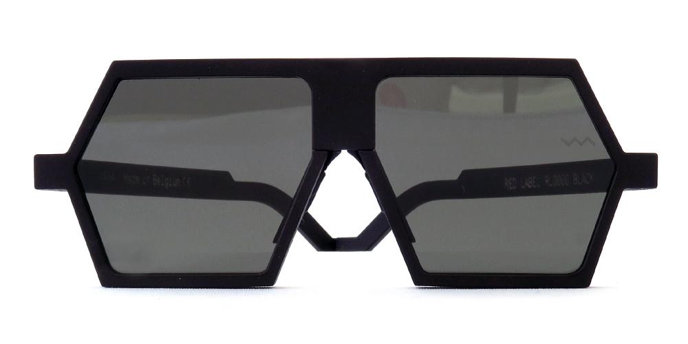 "vava eyewear : ヴァヴァ アイウェア ""rl 0000 black + black lens"""