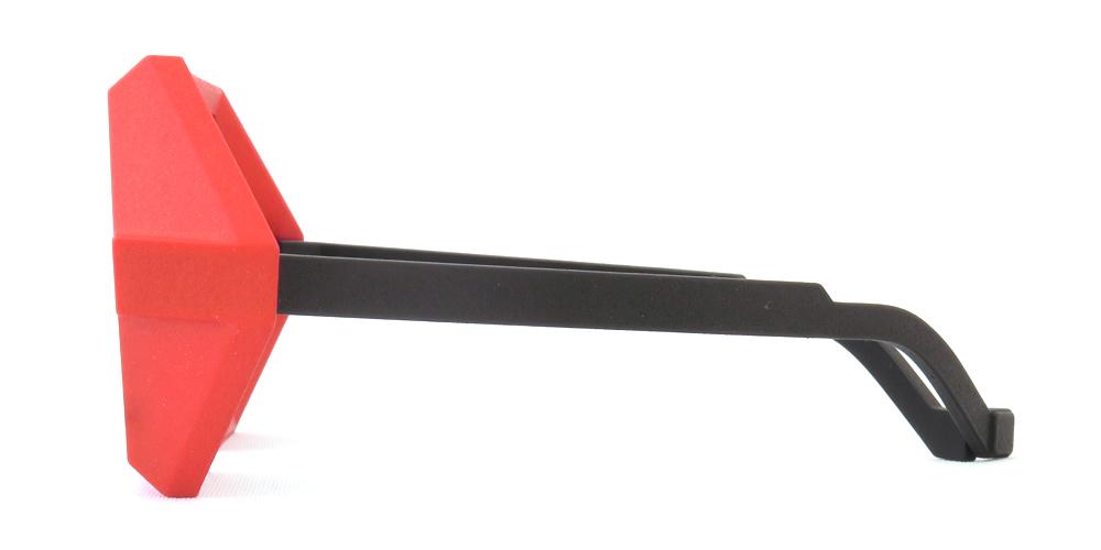 "vava eyewear : ヴァヴァ アイウェア ""rl 0000 black + red windshield + red mirror lens"""