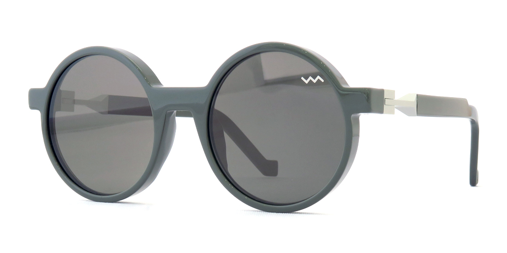 "vava eyewear : ヴァヴァ アイウェア ""wl 0000"" col*dark grey"