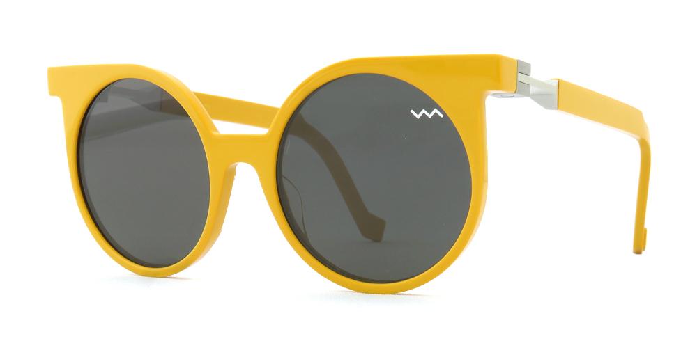 """vava eyewear : ヴァヴァ アイウェア """"wl 0001"""" col*yellow"""